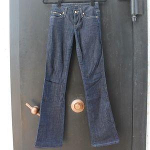 Joe's Jeans Dark Denim Wide Leg Jeans